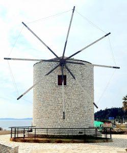 wind mill corfu town